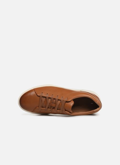 Baskets Clarks Unstructured UN COSTA LACE Marron vue gauche