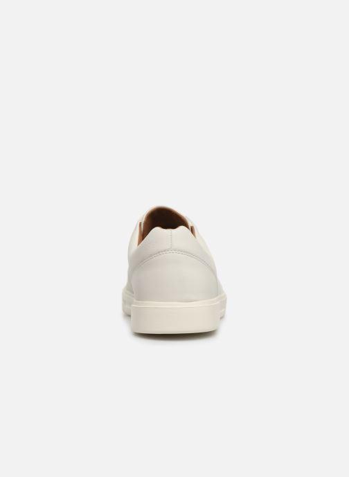 Sneaker Clarks Unstructured UN COSTA LACE weiß ansicht von rechts