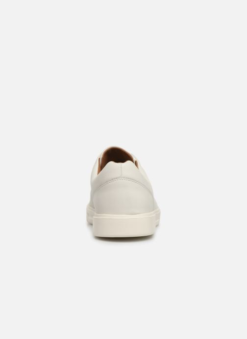 Sneakers Clarks Unstructured UN COSTA LACE Bianco immagine destra