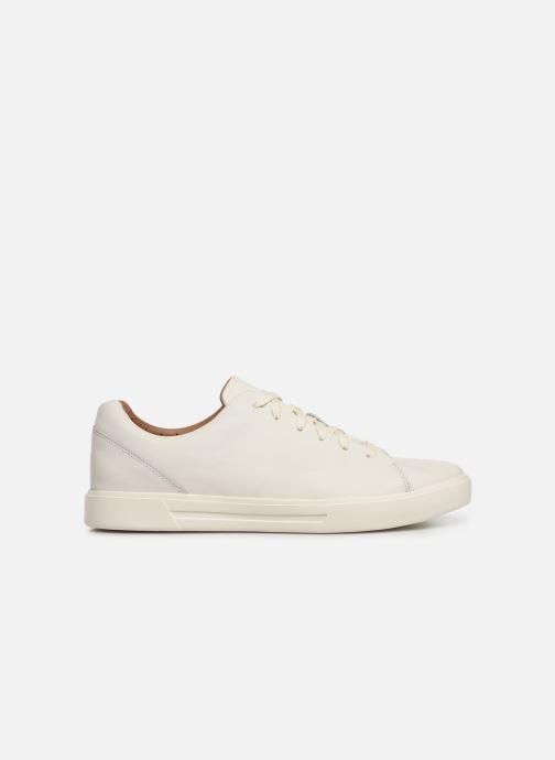 Sneaker Clarks Unstructured UN COSTA LACE weiß ansicht von hinten