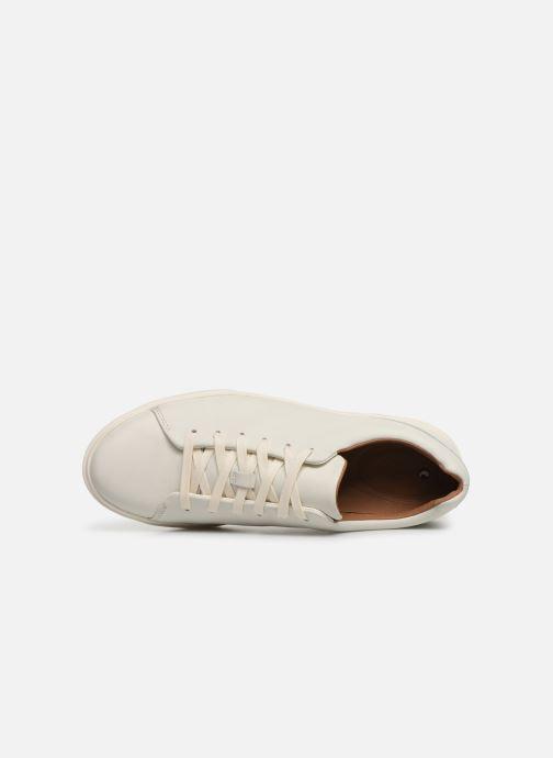 Sneaker Clarks Unstructured UN COSTA LACE weiß ansicht von links