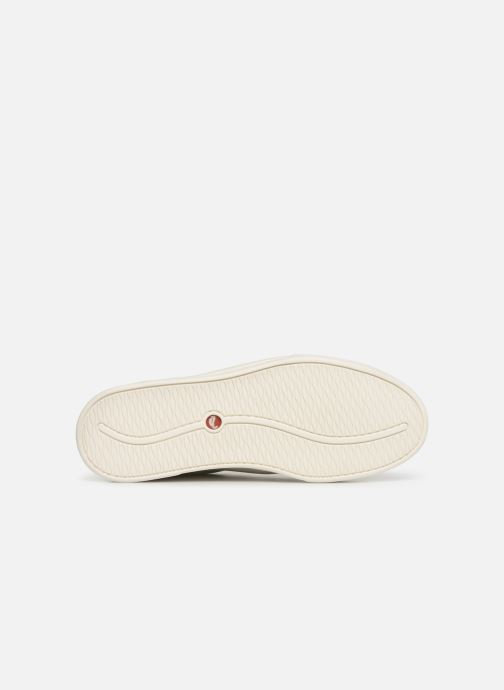 Sneaker Clarks Unstructured UN COSTA LACE weiß ansicht von oben