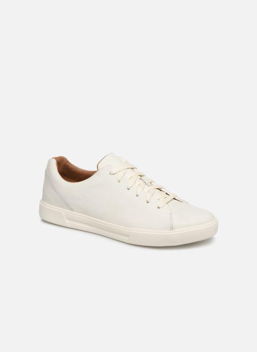 Sneaker Clarks Unstructured UN COSTA LACE weiß detaillierte ansicht/modell