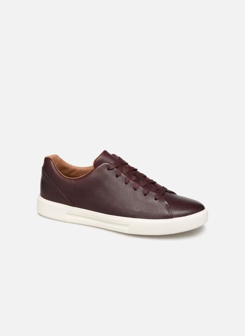 Trainers Clarks Unstructured UN COSTA LACE Burgundy detailed view/ Pair view