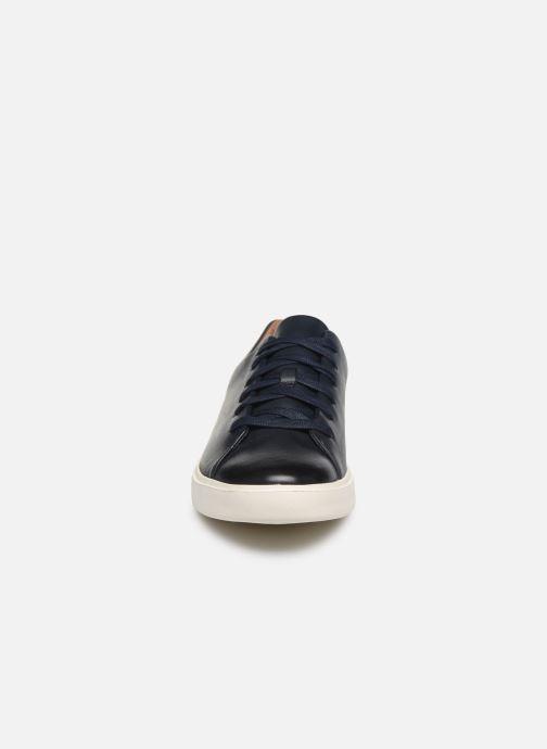 Baskets Clarks Unstructured UN COSTA LACE Bleu vue portées chaussures