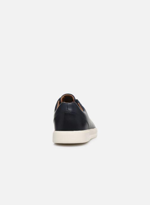 Sneaker Clarks Unstructured UN COSTA LACE blau ansicht von rechts