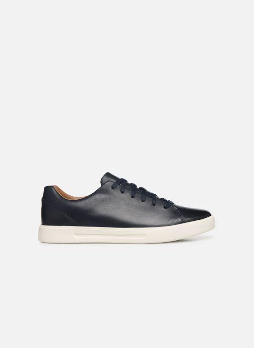 Sneaker Clarks Unstructured UN COSTA LACE blau ansicht von hinten