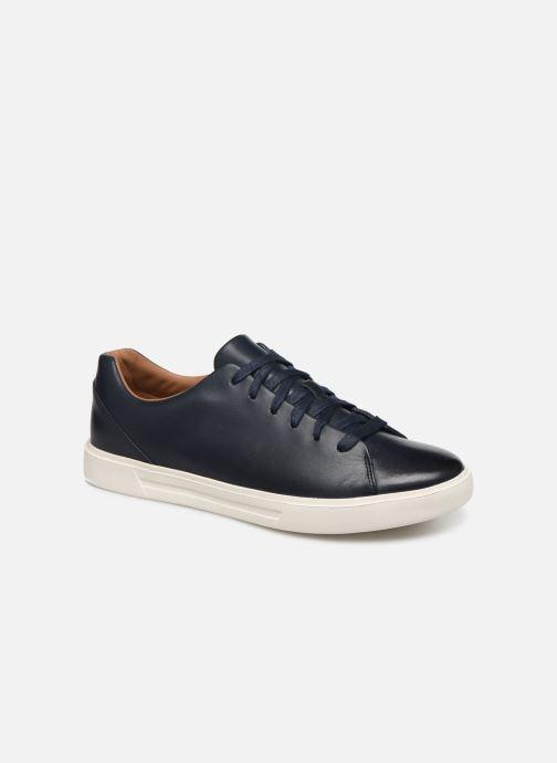 Sneaker Clarks Unstructured UN COSTA LACE blau detaillierte ansicht/modell