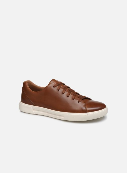 Baskets Clarks Unstructured UN COSTA LACE Marron vue détail/paire