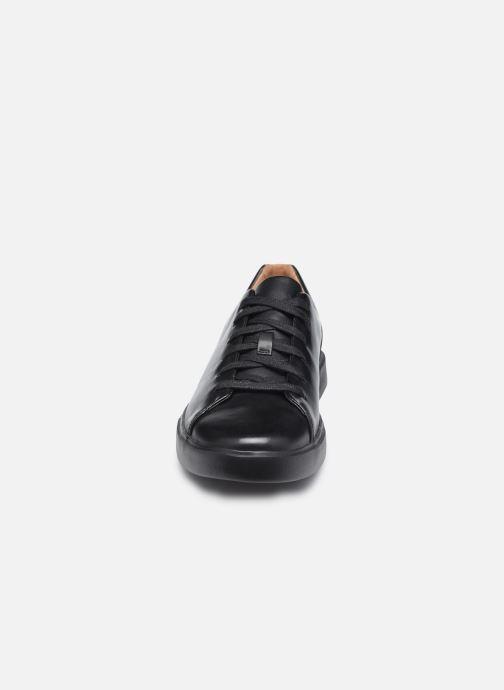 Sneaker Clarks Unstructured UN COSTA LACE schwarz schuhe getragen