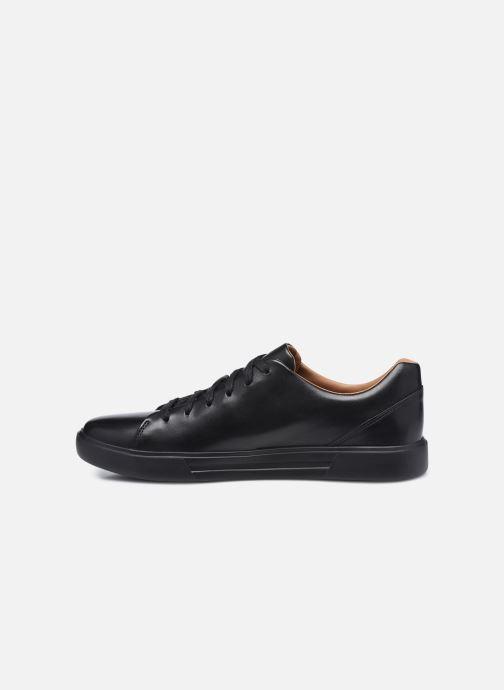 Sneaker Clarks Unstructured UN COSTA LACE schwarz ansicht von vorne