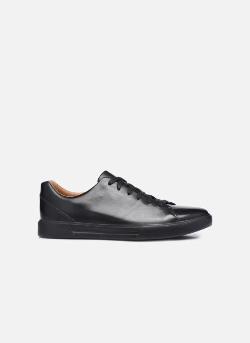Sneaker Clarks Unstructured UN COSTA LACE schwarz ansicht von hinten