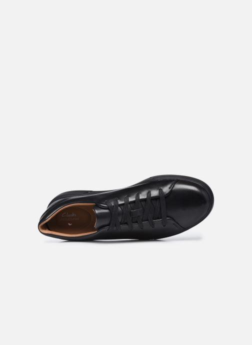 Sneaker Clarks Unstructured UN COSTA LACE schwarz ansicht von links
