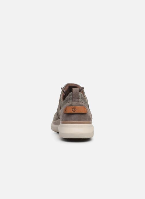 Sneakers Clarks Unstructured UN GLOBE LACE Brun Se fra højre