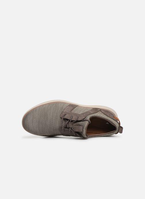 Sneakers Clarks Unstructured UN GLOBE LACE Brun se fra venstre