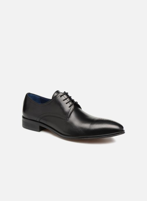 Chaussures à lacets Brett & Sons Mark 2 Noir vue détail/paire