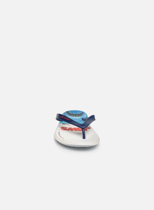 Tongs Rider Blockbuster Blanc vue portées chaussures