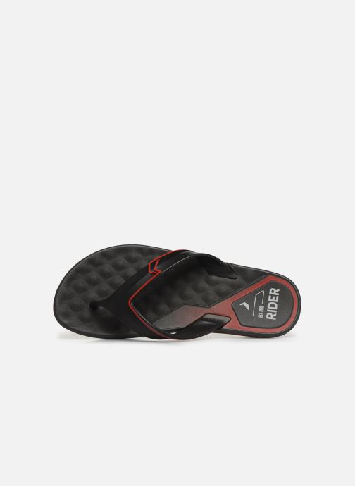 Flip flops Rider R Line Plus II Black view from the left