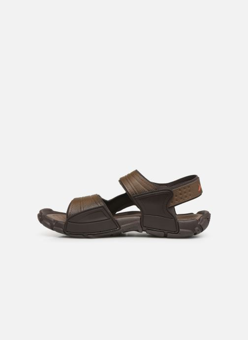 Sandals Rider Tender X Brown front view