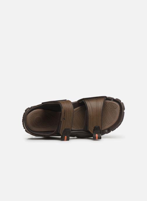 Sandales et nu-pieds Rider Tender X Marron vue gauche