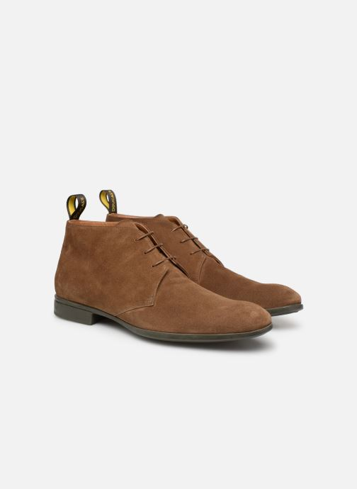 Bottines et boots Doucal's OMAR2 Marron vue 3/4