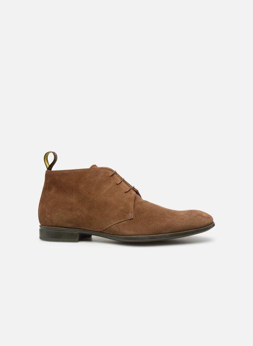 Boots en enkellaarsjes Doucal's OMAR2 Bruin achterkant
