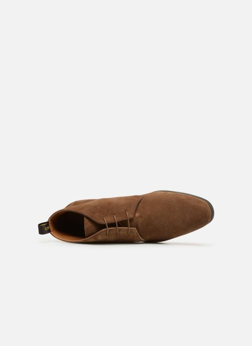 Boots en enkellaarsjes Doucal's OMAR2 Bruin links
