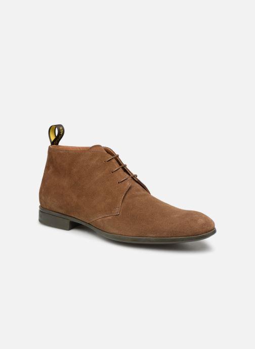 Bottines et boots Doucal's OMAR2 Marron vue détail/paire