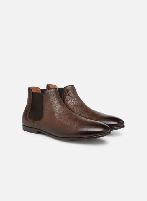 Ankle boots Doucal's MARIO Brown 3/4 view
