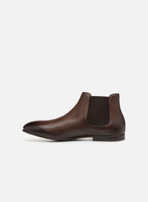 Boots en enkellaarsjes Doucal's MARIO Bruin voorkant
