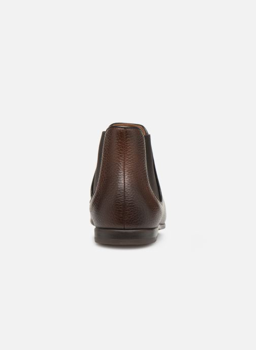 Ankle boots Doucal's MARIO Brown view from the right