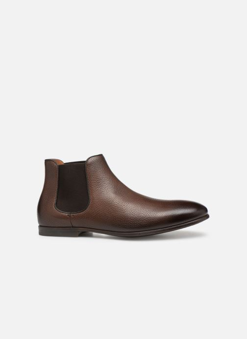 Ankle boots Doucal's MARIO Brown back view