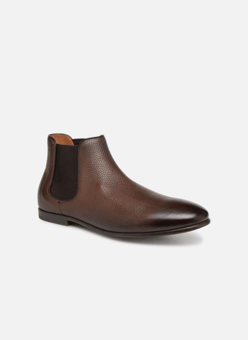 Boots en enkellaarsjes Doucal's MARIO Bruin detail