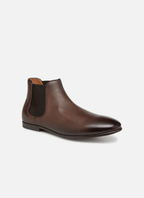 Ankle boots Doucal's MARIO Brown detailed view/ Pair view