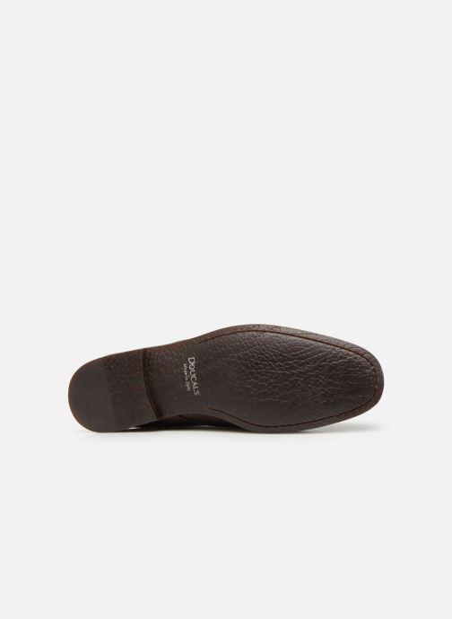 Chaussures à lacets Doucal's MORENO Marron vue haut