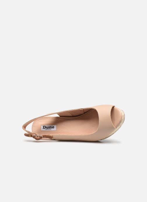 Espadrilles Dune London KICKS 2 beige ansicht von links