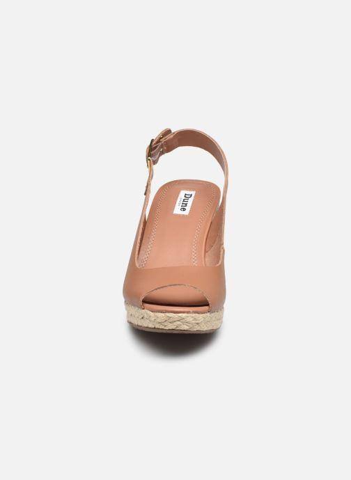 Scarpe di corda Dune London KICKS 2 Marrone modello indossato