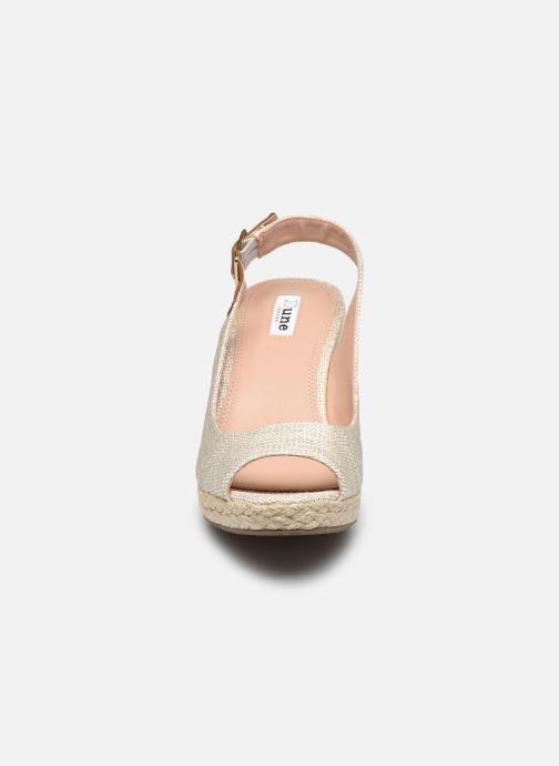 Espadrilles Dune London KICKS 2 Beige vue portées chaussures