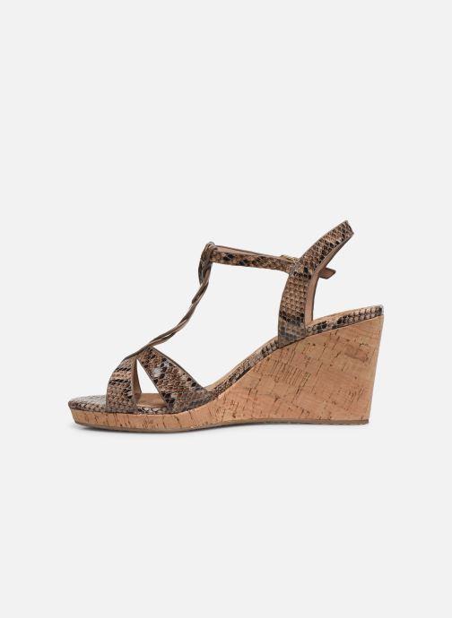 Sandales et nu-pieds Dune London KOALA Marron vue face
