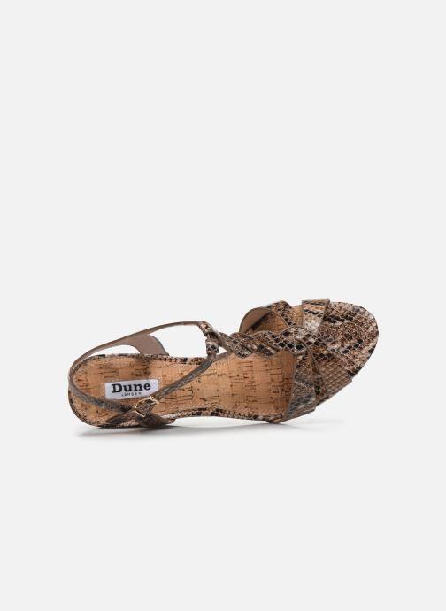 Sandales et nu-pieds Dune London KOALA Marron vue gauche