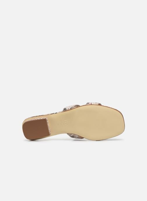Mules & clogs Dune London LOUPE Beige view from above