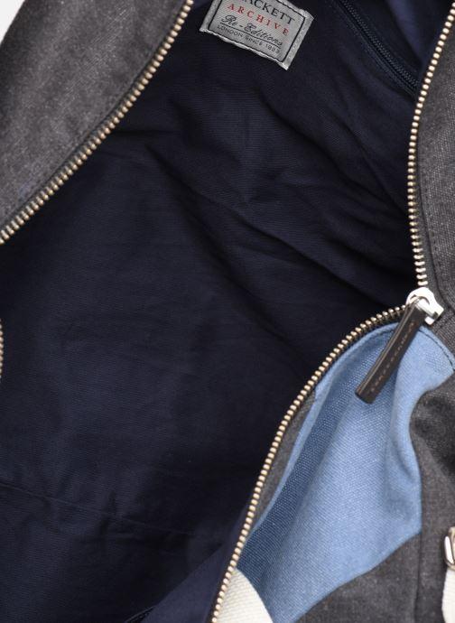 Sacs de sport Hackett London Sash Duffle Bleu vue derrière