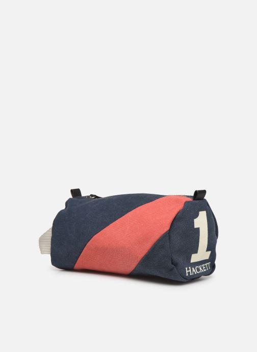 Bagages Hackett London Sach Washbag Bleu vue portées chaussures