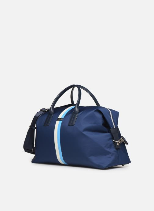Sacs de sport Hackett London Ledbury Holdall Bleu vue portées chaussures