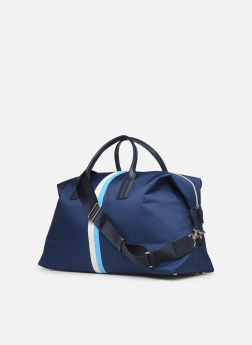 Sports bags Hackett London Ledbury Holdall Blue view from the right