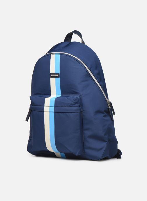 Sacs à dos Hackett London Ledbury Backpack Bleu vue portées chaussures