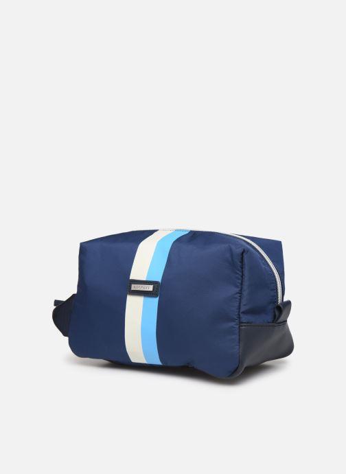 Bagages Hackett London Ledbury Washbag Bleu vue portées chaussures