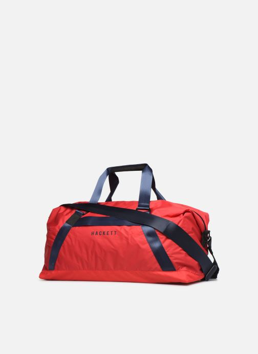 Sports bags Hackett London AMR 48 Holdall Red view from the right