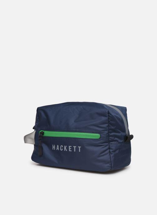 Bagages Hackett London AMR Washbag Bleu vue portées chaussures