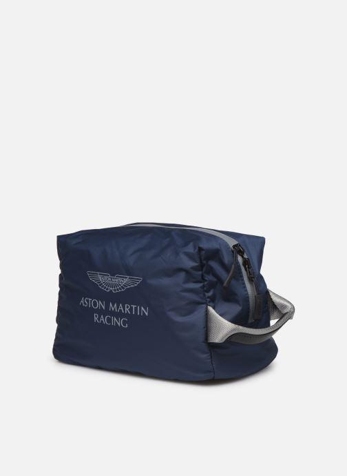 Bagages Hackett London AMR Washbag Bleu vue droite